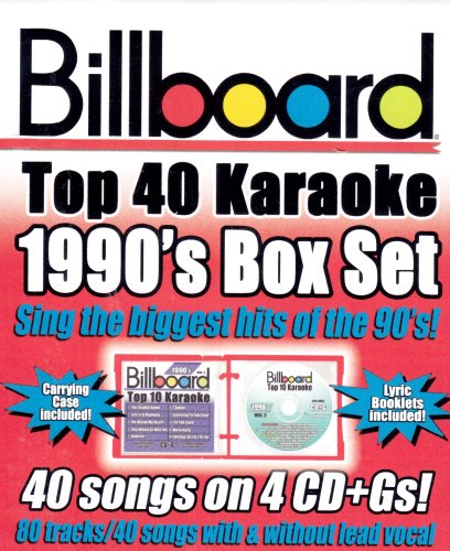 (Billboard Top 40 Karaoke: 1990's Box Set)
