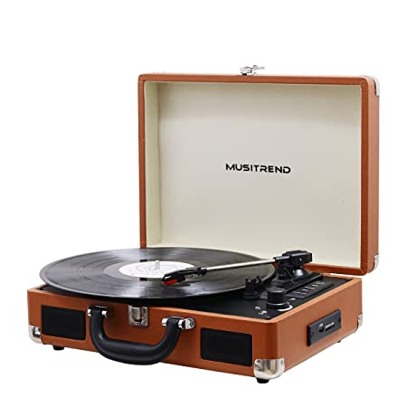 Review Musitrend Bluetooth Record Player