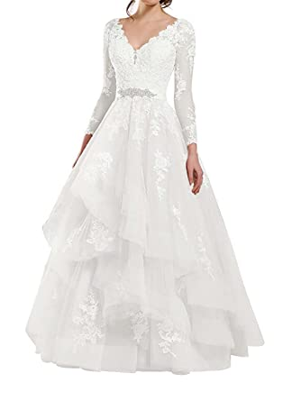 Vestido de Boda Vestido de Novia Mujer Vestidos de Fiesta Largo ...