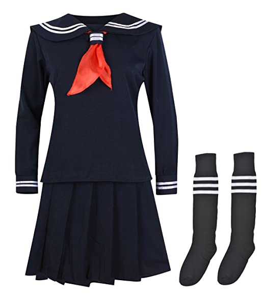 I-MART Sailor Suit Women's Cosplay Costume Navy (S)