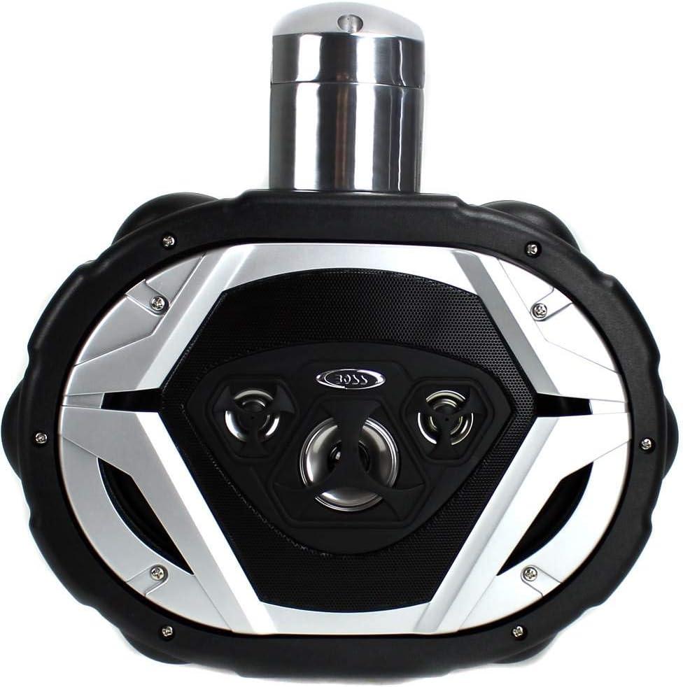 BOSS MRWT69 6x9 1100W 4-Way Waketower Boat Marine Speakers Waterproof Black 2