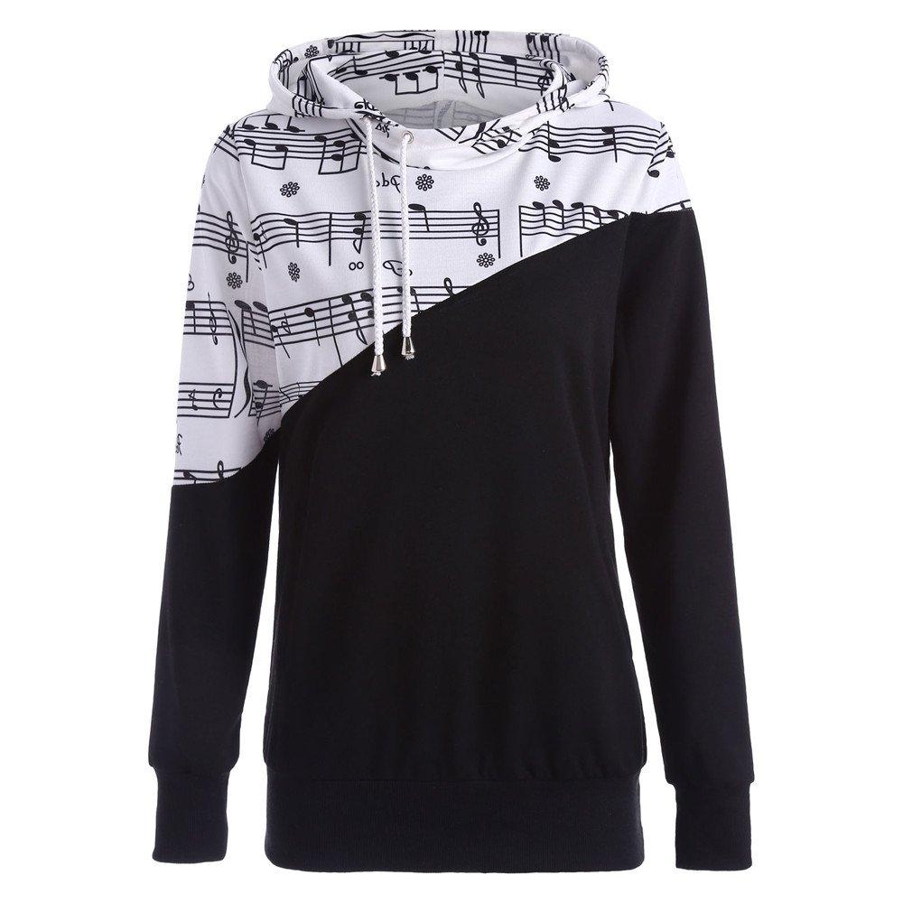 Damen Pullover Langarm Streetwear Sweatshirt Bluse Zhen+