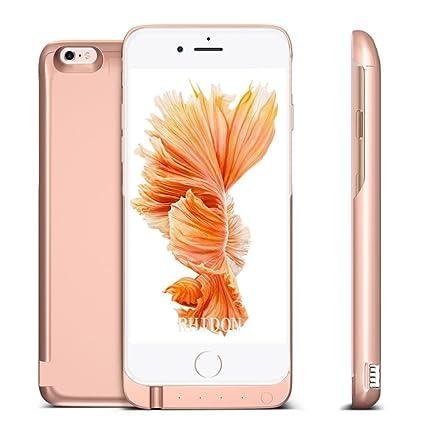 various colors 59e42 5a3d7 Amazon.com: iPhone 6S Plus Battery Case, Rhidon 8000 mAh Power Bank ...
