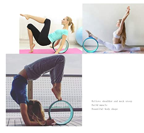 Hywot Yoga Circles, Yoga Wheels, TPE Yoga Pilates Circle ...