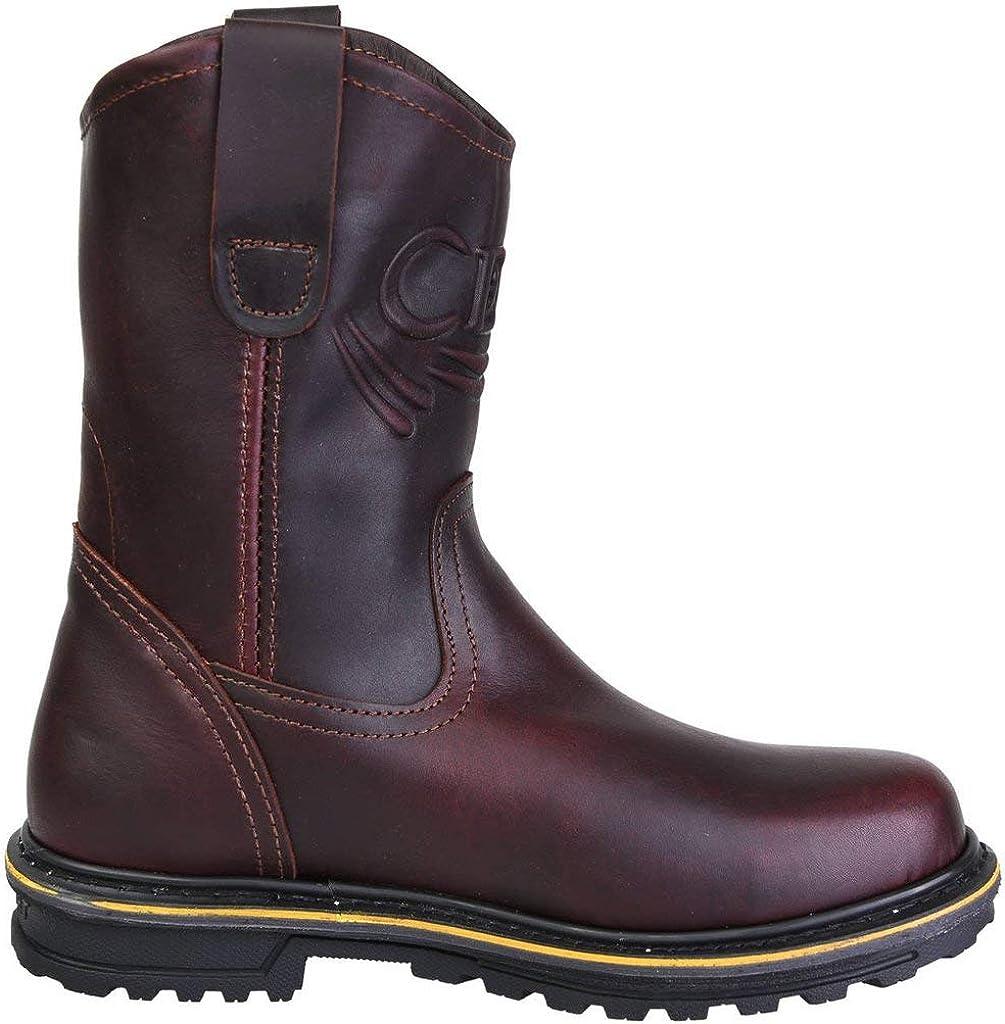 CEBU STKCafe Tractor 10 Brown Work Boots