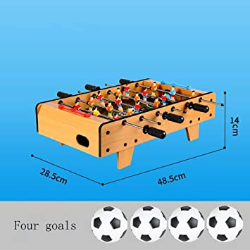 Nicolas Máquina De Fútbol De Mesa, Tipo De Mesa De Fútbol De Batalla para Interiores, Juego De Mesa Doble (Color : Large 6-Seat Football Table) : Amazon.es: Juguetes y juegos