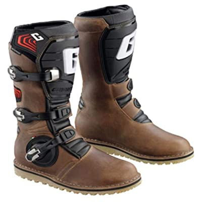 Gaerne Balance Oiled MX Boots Brown 11 USA: Automotive