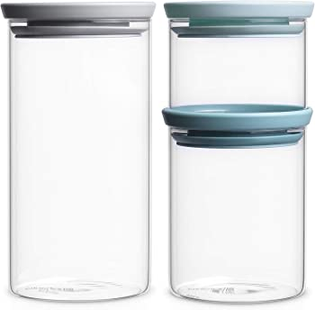 Brabantia Stackable Glass Storage Containers