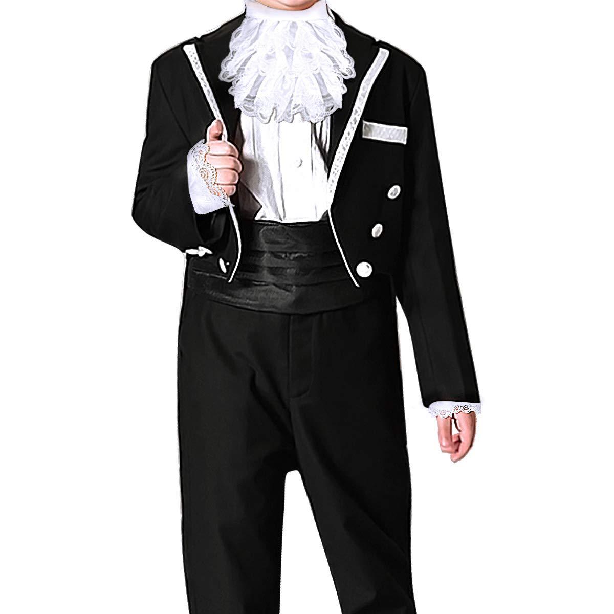 iiniim Victoriano Disfraz Señor Disfraz de Victoriano para Niños ...