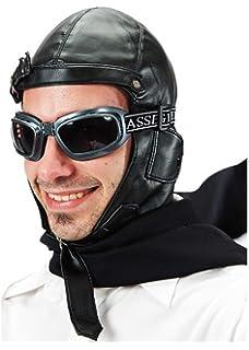 Widmann Cappello Modello Aviatore in Similpelle  Amazon.it  Giochi e ... 057ecc2895a0