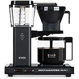 Moccamaster CD - KBG 741 Select - Matt Black Kaffemaskin, 1520W, Svart