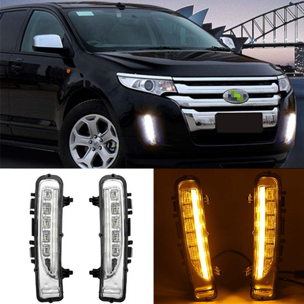 Autowell Denver Mall LED Daytime Running Lights 2011-2014 for Edge Special Campaign DRL Ford