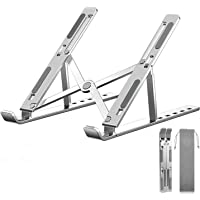 """Adjustable Laptop Stand for 10-16"""" Laptops and Tablets, Aluminum Ergonomic Computer Stand with Heat-Vent, Portable…"""