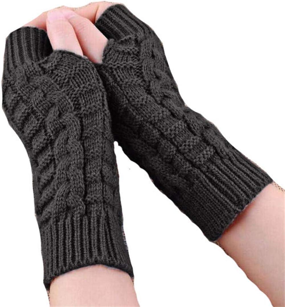 Knitted Fingerless Unisex...