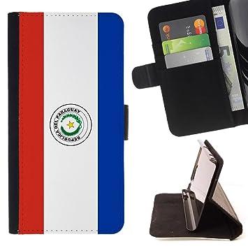 STPlus Paraguay bandera paraguaya Monedero Carcasa Funda para HTC U Ultra