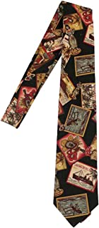 product image for Hawaiian Neckties, Black Post Card
