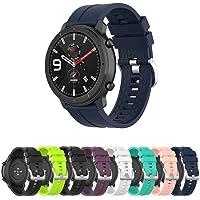 Pulseira Silicone 22mm compatível com Amazfit GTR 47mm - Stratos3 - Galaxy Watch 46mm - Gear S3 Frontier - Galaxy Watch…