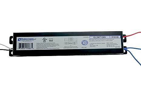 ROBERTSON 3P20158 ISL296T12MV Fluorescent Electronic Ballast for 2 on
