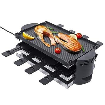 Barbacoa Eléctrica Raclette de de piedra GRILL - Parrilla ...