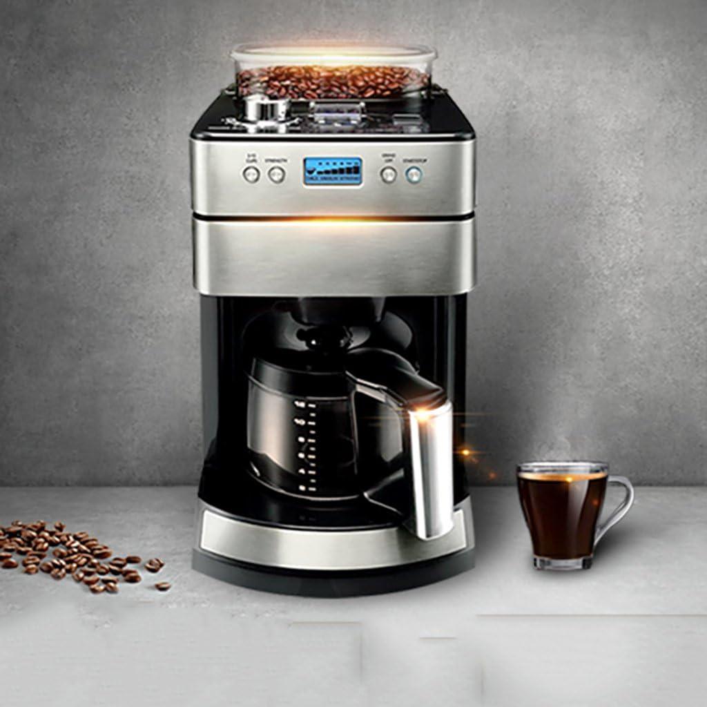 XINGQIANRU Máquina De Café Para Uso Doméstico Máquina De Café Comercial Automática Cafetera De Uso Dual Del Café Del Acero Inoxidable Del Grado Alimenticio (220 * 323 * 420M M): Amazon.es: Hogar