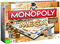 Winning Moves 42884 - Monopoly Mega Deluxe