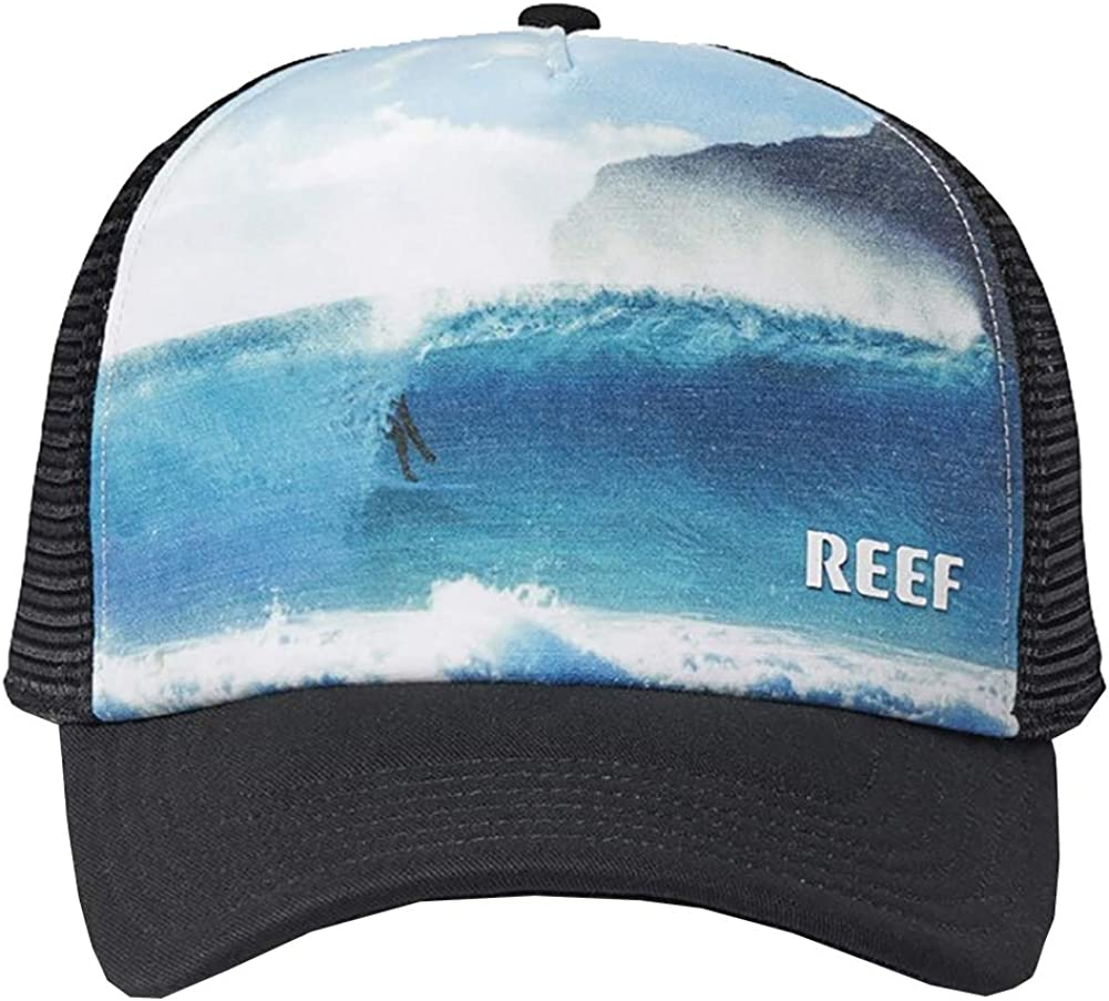 Reef - Gorra de béisbol - para Hombre Negro Negro (Ajustable ...