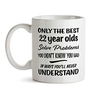 22nd Happy Birthday Gift Mug