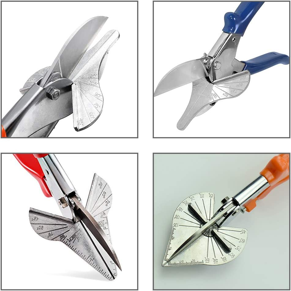 Miter Cutter Replacement Blades - 3 Pack Universal SK5 Metal Spare Blades for Shears, Angle Scissors & Multi Tool