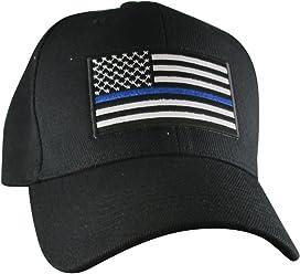 AffinityAddOns Thin Blue Line USA Hat  f38c2eef97c3