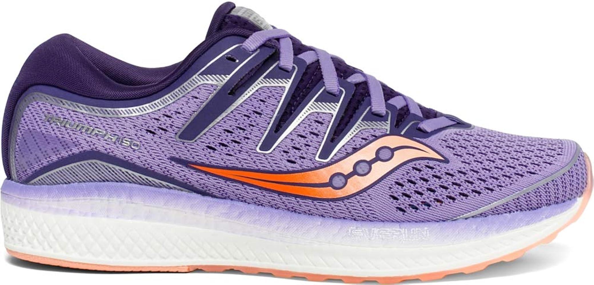 Women's Triumph ISO 5 Running Shoe, PurplePeach, 9.5 M US