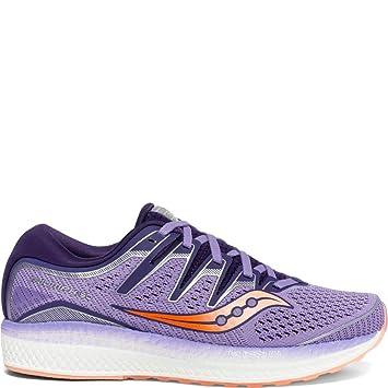 Saucony Hurricane ISO Serie mujeres púrpura zapato de correr