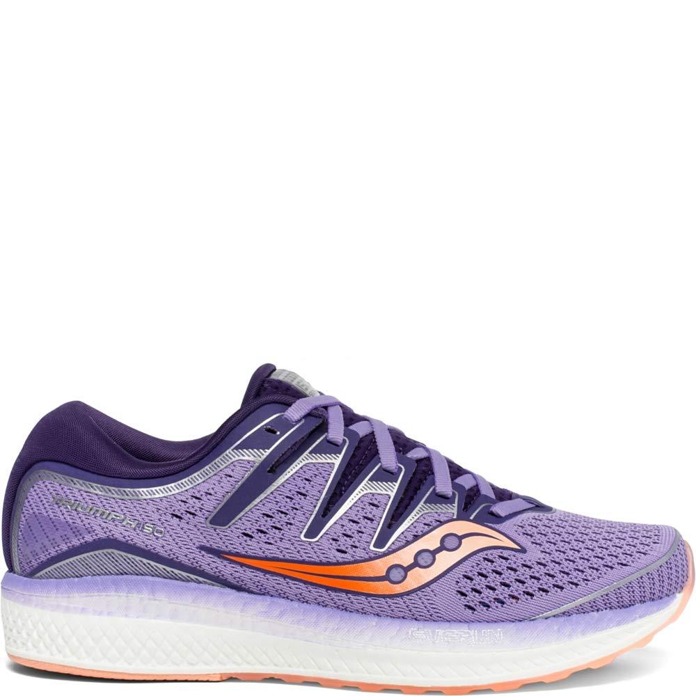 Purple Peach Saucony Women's Triumph ISO 4 Running shoes