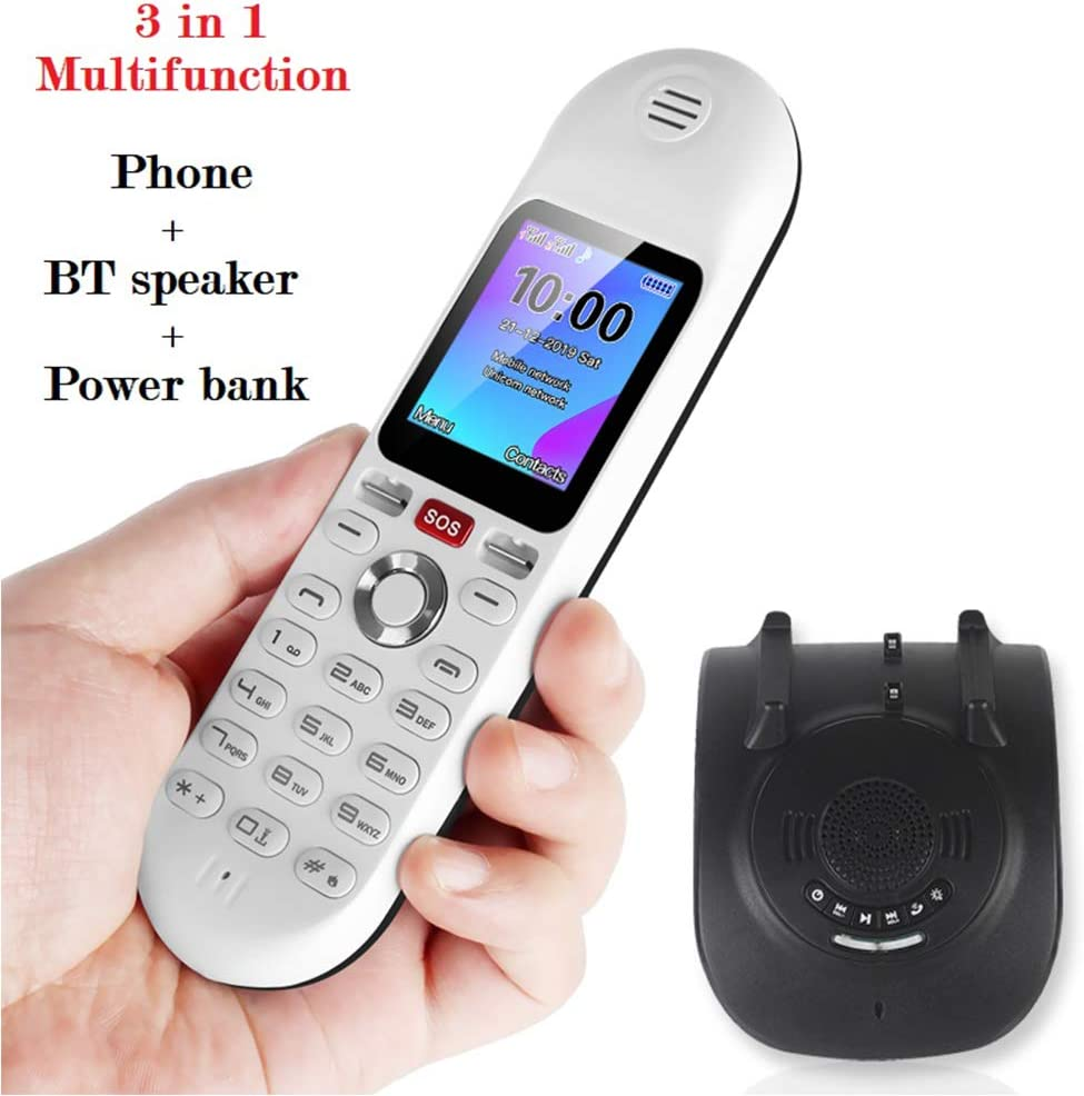 XIANGHUi Cordless Home Phone With Lcd Display,Bluetooth Audio Charging Throne With Three-In-One Multi-Functional Personality,Suitable For Home//Office