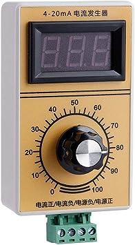 No Delay 4-20mA Generator DC5-28V Input Adjustable Signal Generator Diyeeni Current Signal Generator with Ammeter Probe to Provide Precise Values