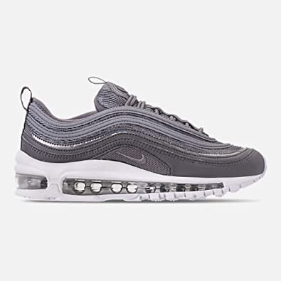 hot sale online f193b f1534 Nike Air Max 97 (GS), Sneakers Basses Femme, Multicolore Gunsmoke White