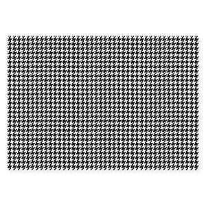 El lado más suave de tiempo Protector de pata de 28x 102-inch zona alfombra en color negro