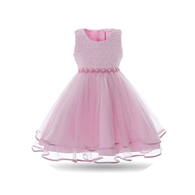 Amazon.com: JOSHUA-JOULE Vestido de niña falda de malla ...