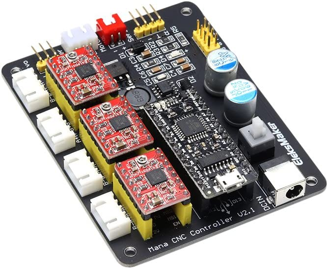 KKmoon EleksMaker EleksMana XYZZ3 - Panel de control de controlador de motor paso a paso para grabado láser: Amazon.es: Bricolaje y herramientas