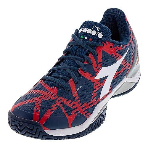 76599286a973c Diadora Mens Speed Blushield 2 Ag Tennis Athletic,