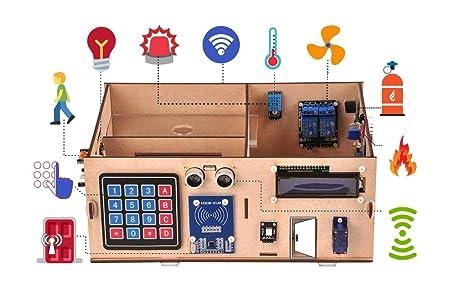 Quad Store Diy Smart Home Iot Prototype Development Kit For