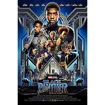 Amazon.com: Black Panther - Marvel Movie Poster / Print ...
