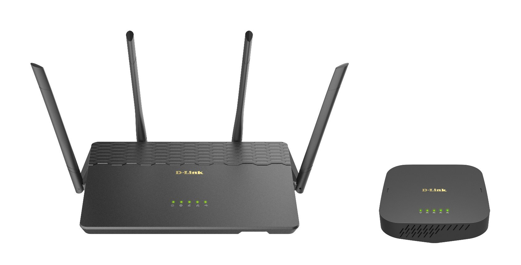 D-Link COVR AC3900 Whole Home Wi-Fi System - Coverage up to 6,000 sq. ft, MU-MIMO Wi-Fi Router and Seamless Extender (COVR-3902-US) by D-Link