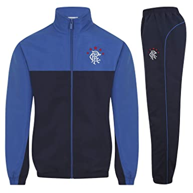 Rangers FC - Chándal Oficial para niño - Chaqueta y pantalón ...