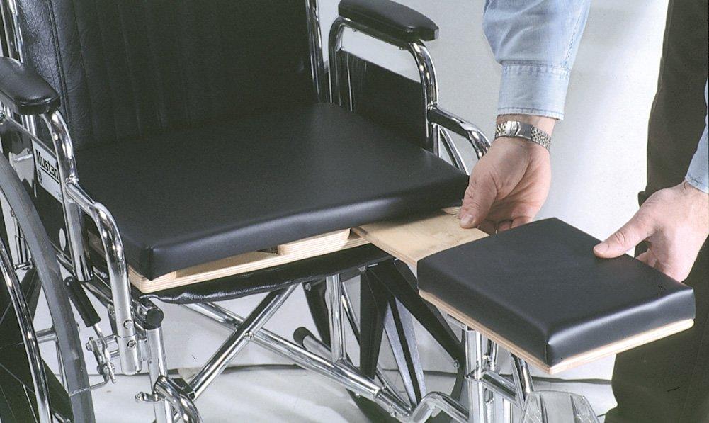 Amputee Wheelchair Surface, Standard, Polyfoam, Left