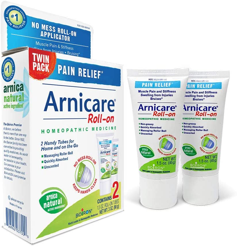 Boiron Arnicare Roll-on Twin Pack Homeopathic Medicine for Pain Relief, 1.5 Ounce (Pack of 2): Health & Personal Care