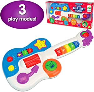 The Learning Journey Early Learning – Little Rock Star Guitar – Baby & Toddler Toys & Gifts for Boys & Girls Ages 12 months and Up – Award Winning Toy