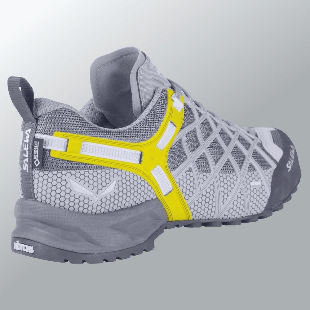 Salewa Women's Firetail 3 Approach Shoes   Approach, Hiking, Sole, Alpine Climbing   Vibram Sole, Hiking, Climbing Lacing, Breathable Upper B01HTN8RQ4 8 B(M) US Dark Denim/Aruba Blue 954846