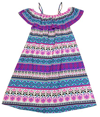 Epic Threads Big Girls (7-16) Wear-3-Ways Peasant Dress Pink Orchid X-Large -