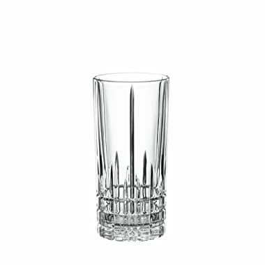 Drinking Glasses Set, Spiegelau 12.3 Oz Perfect Longdrink Clear Glass Set, 4 Piece