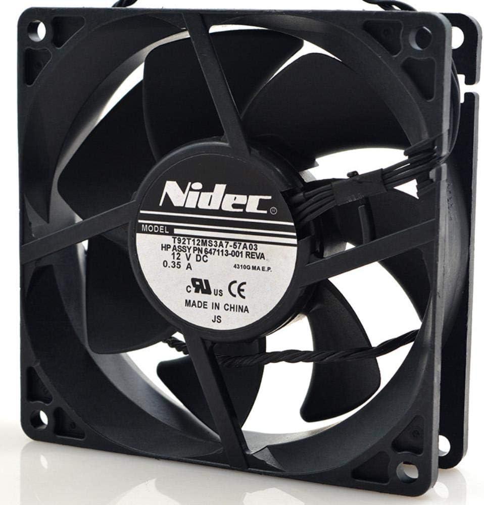 for nidec t92t12ms3a7-57a392259cm dc12v0.35a Cooling Fan